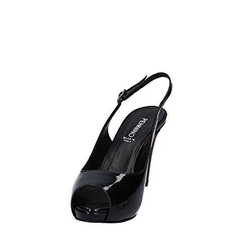 GRACE SHOES 318 Sandalo tacco Donna Nero