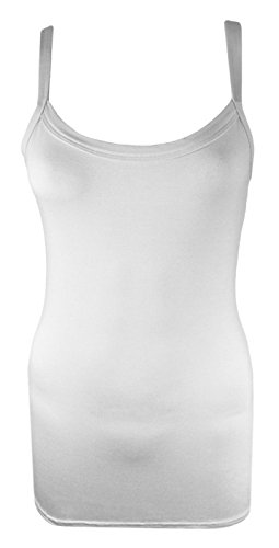 Generic - T-shirt - Femme Noir Noir Blanc - Blanc