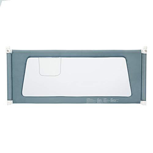 Bettgitter- Tragbare extra hohe, vertikales Anheben der Sicherheit Babybett-Leitplanke, Kinder Anti-Fall-Doppelbett-Schallwand (größe : 200cm)
