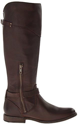 FRYE Women's Phillip Riding Boot,Dark Brown Soft Vintage Leather,11 M US Dark Brown
