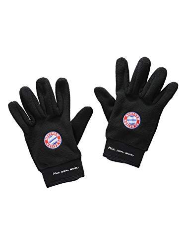 FC Bayern München Trainings-Handschuhe, Feldspieler-Handschuhe schwarz, S