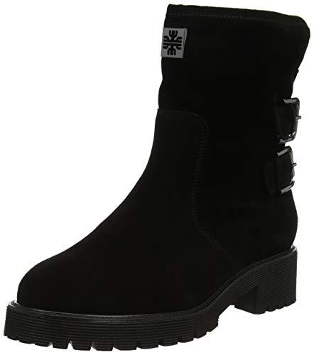 Preisvergleich Produktbild Högl Damen Moto Biker Boots,  schwarz (schwarz 0100),  37 EU
