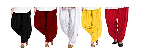 Spangel Fashion Women's Soft Cotton Full Stitched Ready made Patiala Salwar Combo...
