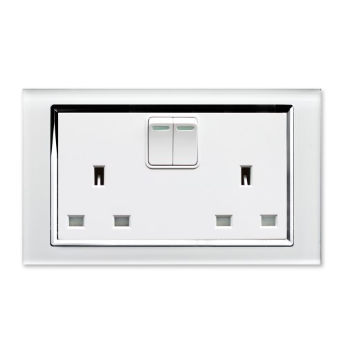 retrotouch-crystal-13a-2-gang-dp-switched-plug-socket-white-glass-with-chrome-trim