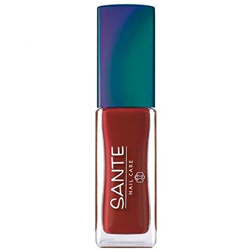 SANTE MAQUILLAGE - Vernis à ongles n°16 warm red - Flacon de 7 ml- (pour la quantité plus que 1 nous vous remboursons le port supplémentaire)