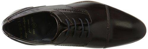 bugatti Herren 311164012500 Derbys Braun (Dark Brown)