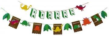 Preisvergleich Produktbild Dinosaur Roarrrr Party Garland - 3 Metre Length