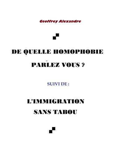 De quelle homophobie parlez-vous ? par Geoffrey Alexandre