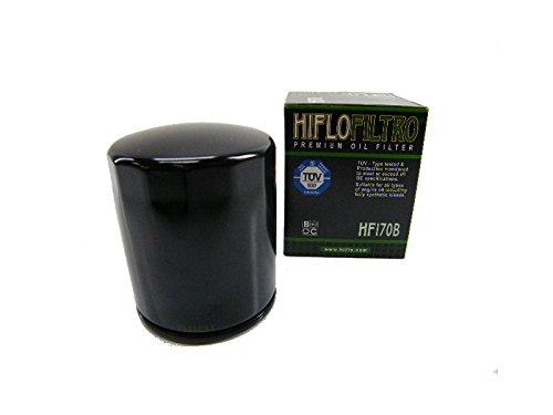 Ölfilter Hiflo schwarz HF170B für Harley Davidson