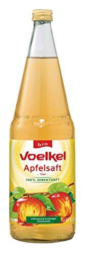 Voelkel - Bio Apfelsaft klar - 1,0l inkl. Pfand (Apfelsaft 1 Liter)