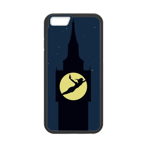 Custom Peter Pan Design Rubber PC and TPU Case Cover For iPhone 6, iPhone 6Coque