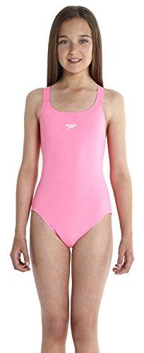 Speedo Mädchen Badeanzug Essential Endurance plus Medalist, Princess Pink, 152, 8-00728A760152