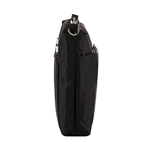 Picard Damen Switchbag Umhängetasche, 3x15x20 cm Schwarz (Schwarz)