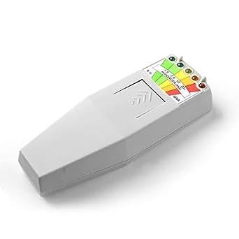 K2 K-II EMF Meter K2 Equipment Meter Deluxe EMF Detector Sensor Improver Design Meter PF Spektrum Analyzer Free Flashlight EMF Jagd Dectector