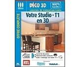 MICRO APPLICATION - Votre Studio - T1 en 3D - Neuf