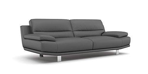 Leder Sofa Couch 2-Sitzer Designer Polstergarnitur Sitzgruppe Couchgarnitur - 5