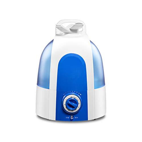 Qi Peng Humidificador de ultrasonidos de Gran Capacidad (5.8L) - Purificador de Aire 360 ° en Dos sentidos Salida de Niebla - Protección contra la escasez de Agua Humidificado