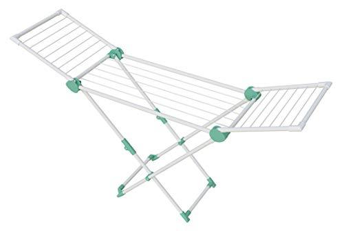 Artweger Wäschetrockner, Stahl, Aluminium und Kunststoff, Mint, 169,5 x 41,9 x 95,5 cm