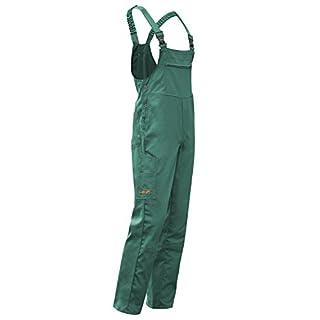Arbeits-Latzhose Hamburg Kombi-hose Berufskleidung - KERMEN - Größe: 25, Farbe: Grün