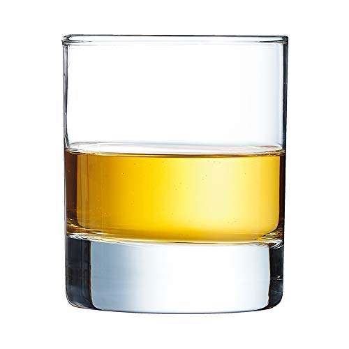 Arcoroc ARC J3312 Islande Whiskyglas, 200 ml, Glas, transparent, 6 Stück -