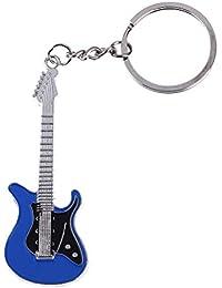 ZTING Creative Mini Guitare électrique en métal Pendentif Porte-clés, Noël  Sac à Main, Porte-clés, Porte-clés de Noël… ed2fe3bf5fe