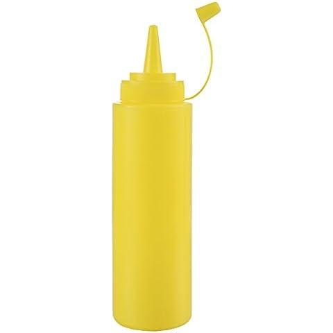 Zyurong in plastica contagocce bottiglie con tappi, ideale per ketchup