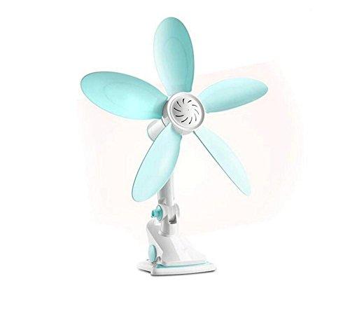NWYJR Ventilador de 2 velocidades Mute Ventilador Mini Viento/Pared / Mesa/Carpeta Ventilador...