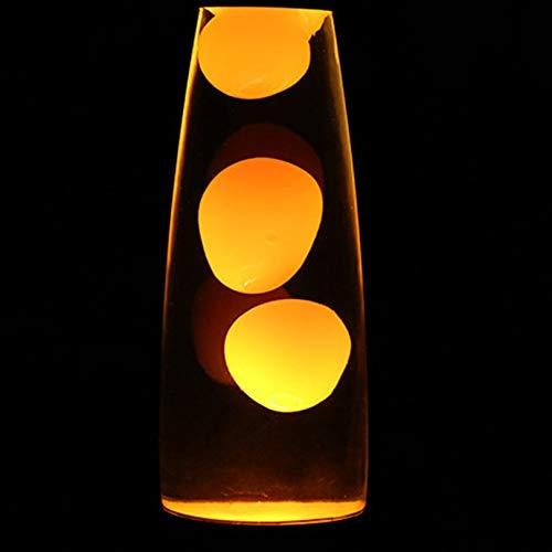 (Nette Metallhaltig Lava-Lampe Wax Vulkan-Art-Nachtlicht Quallen Nacht Glare Glühlampen Lava Beleuchtung Lampen)