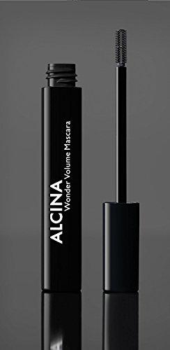 Alcina Wonder Volume Mascara black 010 8 ml Für maximales Volumen & spektakuläre Wimpern