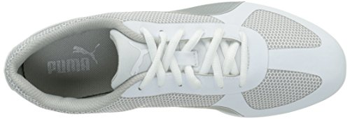 Puma Modern Soleil, Baskets Basses Femme Blanc (White/Silver)