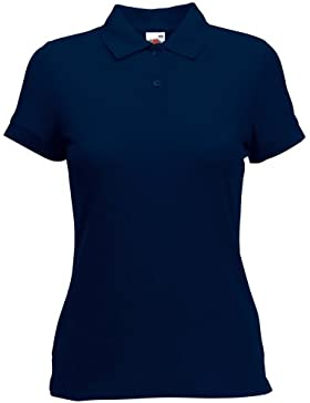 Fruit Of The Loom - Polo Manica Corta - Donna