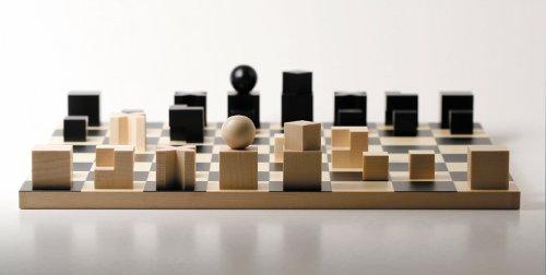 Bauhaus Schachspiel Schachfiguren [ohne Schachbrett]
