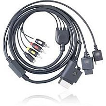 Gigaware Universal Composite/S-Video Gaming Kabel für PlayStation3, PlayStation2, Xbox 360 und Nintendo Wii S-video-radio Shack