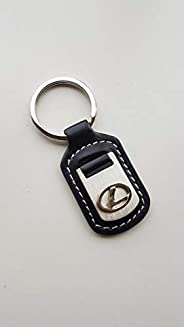 Luxury car Lexus Black Keychain For Car Keychain Accessories Sporty Gifts