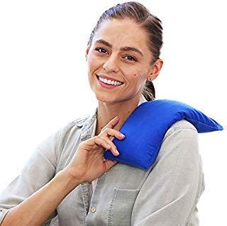 My Heating Pad Hot-Therapie Pack Natürliche Wärme Therapie Stressabbau (Blau)