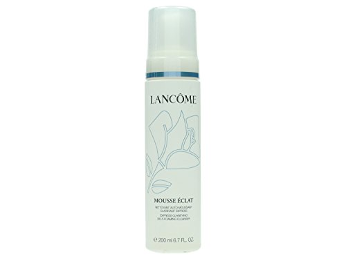 Lancome Mousse Eclat, Express Clarifying Self-Foaming Cleanser, Donna, 200 ml