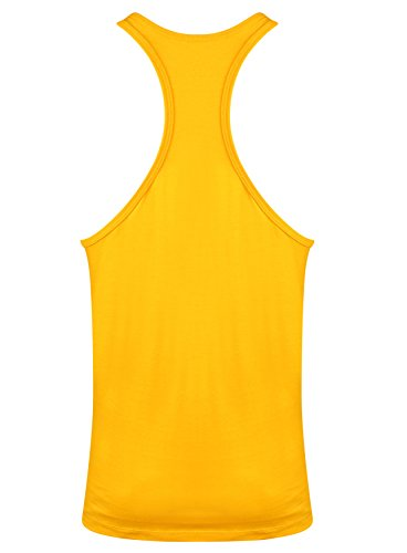 Goldsgym Muscle Joe Premium Canotta Oro