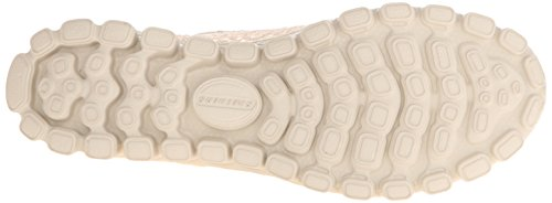 Skechers Ez Flex 2 Flighty, Ballerines femme Blanc Cassé (Nat Naturel)