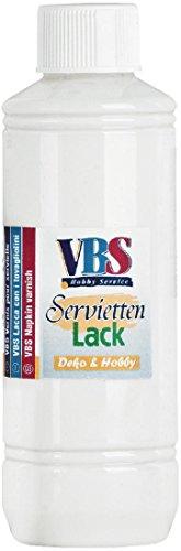 VBS Servietten-Lack Matt, 500 ml