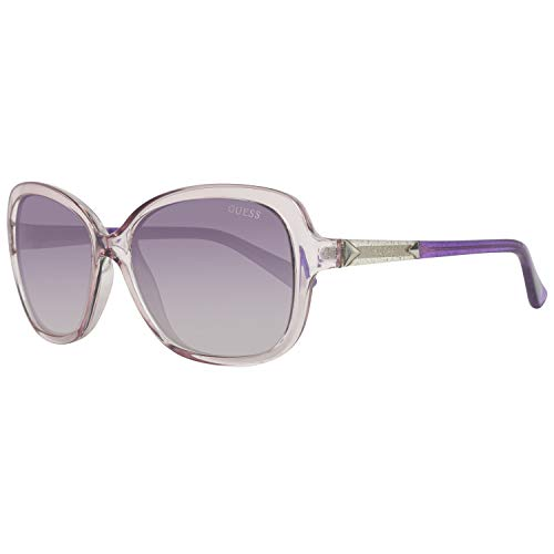 Guess Damen GU7455-5881B Sonnenbrille, Pink, 58