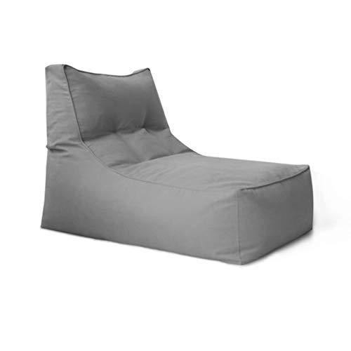 Sitzsack Sofa Erwachsene Rechteckige Faule Sofa Kinder Stabile Komfortable Indoor Outdoor Geeignet Für Spiele Helles Sofa BBB (Color : Light gray) -