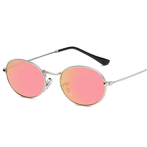 YOGER Sonnenbrillen Goldrahmen Champagnerkleine Ovale Sonnenbrille Frauen Designer Schwarz Rot Günstige Sonnenbrille Runde Metallrahmen Männer Uv