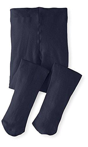 Banner Bonnie Mädchen Undurchsichtige Mikrofaser - Tanz Strümpfe Schuluniform Fuß Strumpfhosen (10 - 12, Marine) (Tanz Mädchen Strumpfhose)