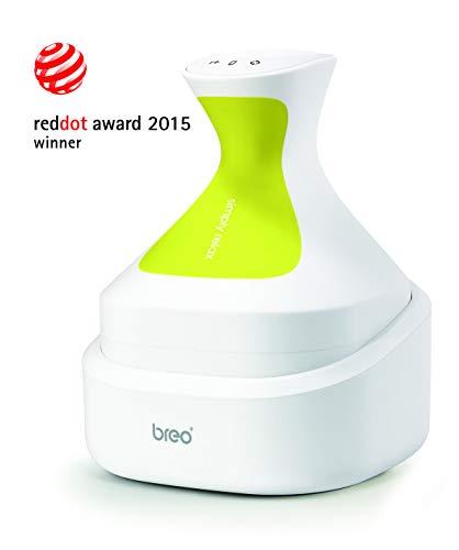 Breo Scalp Massager Kopf Massagegerät Elektrische Cordless Portable Nachahmung Menschlicher Finger Massage Wasserdicht Mit Austauschbaren Weichen Pinsel