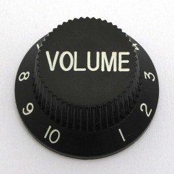 Göldo KBSVB Volume-Knopf für Strat / schwarz