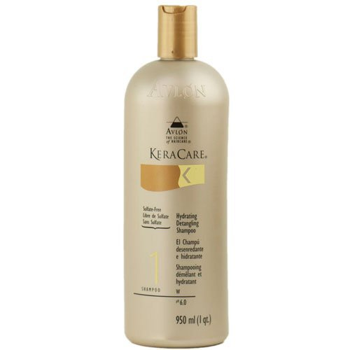 Keracare Hydrating Detangling Shampoo 32oz by Keracare BEAUTY (English Manual)