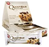 Die besten Quest-Nutrition Protein Riegel - Quest Nutrition Protein Bar Chocolate Chip Cookie Dough Bewertungen
