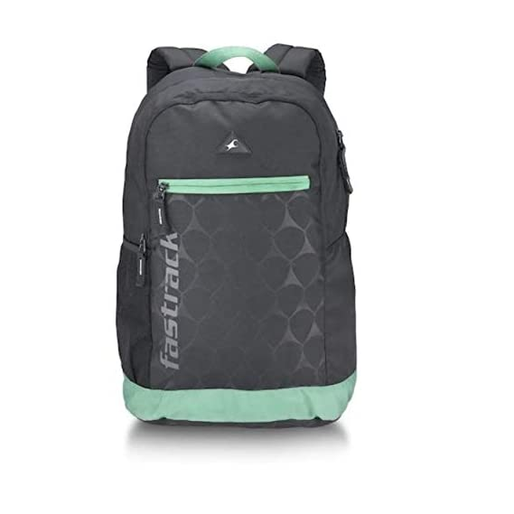 Fastrack 21 Ltrs Black Casual Backpack (A0742NBK01)