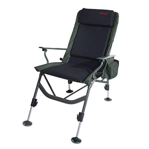 Chaises de pêche Chaise De Jardin Fauteuil Chaise De Sport en Plein Air Peut Être Utilisé comme Un Fauteuil Inclinable Angle De Dossier Réglable Peut Supporter 150 Kg Cadeau