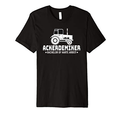 Ackerdemiker Landwirt Geschenk Bauer Traktor Shirt (Damen Shirt Traktor)